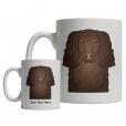 American Water Spaniel Cartoon Mug