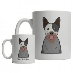 Australian Cattle Dog Cartoon Mug