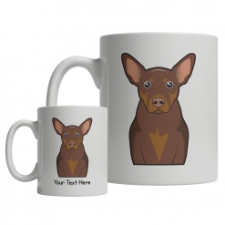 Australian Kelpie Cartoon Mug