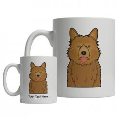 Australian Terrier Cartoon Mug