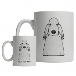 Bedlington Terrier Cartoon Mug