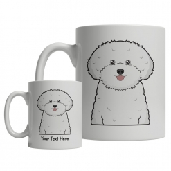 Bichon Frise Cartoon Mug