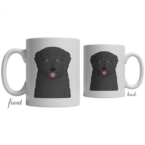 Black Russian Terrier Coffee Mug