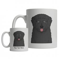 Black Russian Terrier Cartoon Mug