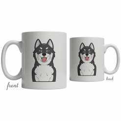 Canadian Eskimo Dog Coffee Mug