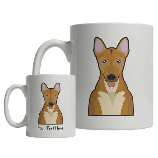 Carolina Dog Cartoon Mug