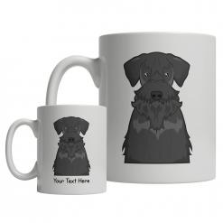 Cesky Terrier Cartoon Mug
