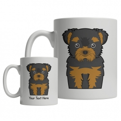 Chorkie Cartoon Mug