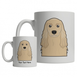 American Cocker Spaniel Cartoon Mug