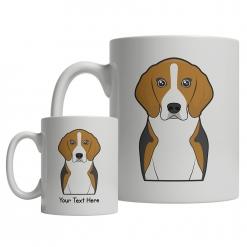 English Foxhound Cartoon Mug