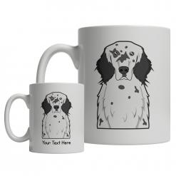 English Setter Cartoon Mug