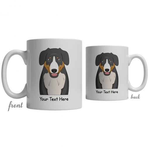 Entlebucher Mountain Dog Cartoon Coffee Cup