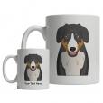 Entlebucher Mountain Dog Cartoon Mug