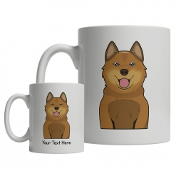 Finnish Spitz Cartoon Mug