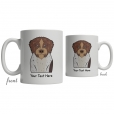 German Wirehaired Pointer Cartoon Coffee Cup