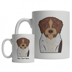 German Wirehaired Pointer Cartoon Mug