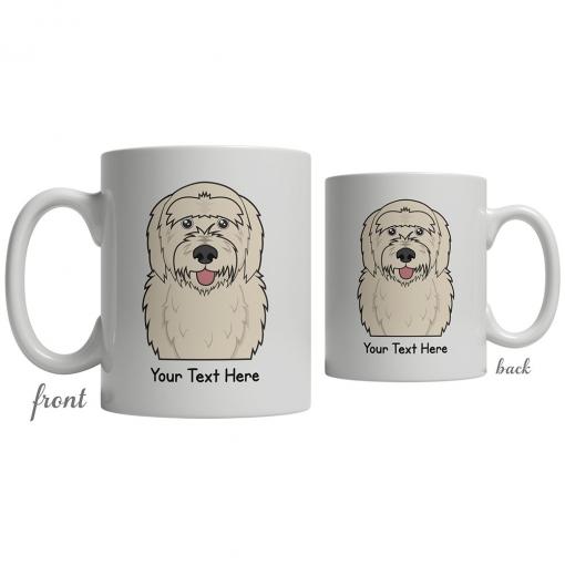 Goldendoodle Cartoon Coffee Cup