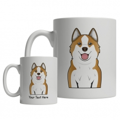 Icelandic Sheepdog Cartoon Mug