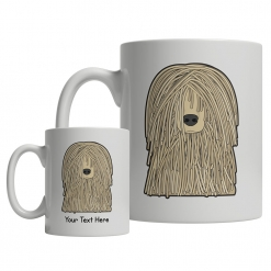 Komondor Cartoon Mug