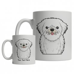 Lhasa Apso Cartoon Mug