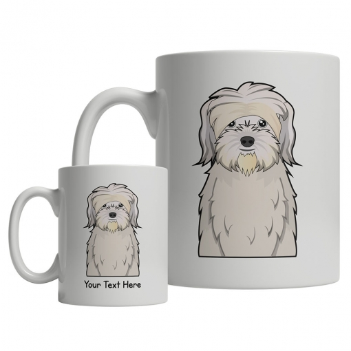 Lowchen Cartoon Mug