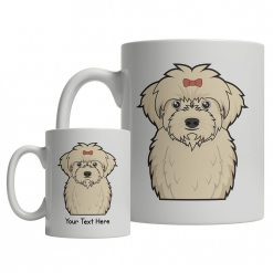 Maltipoo Cartoon Mug