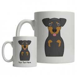 Manchester Terrier Cartoon Mug