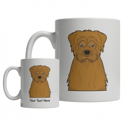 Norfolk Terrier Cartoon Mug