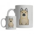 Norwegian Buhund Cartoon Mug