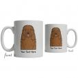Otterhound Cartoon Coffee Cup