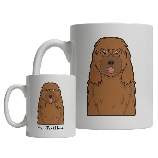 Otterhound Cartoon Mug