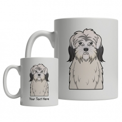 Polish Lowland Sheepdog Cartoon Mug