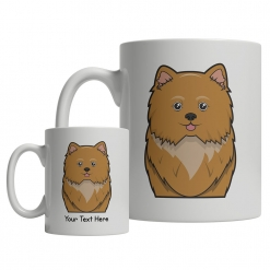 Pomapoo Cartoon Mug