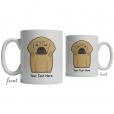 Puggle Cartoon Coffee Cup