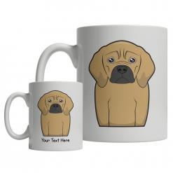 Puggle Cartoon Mug