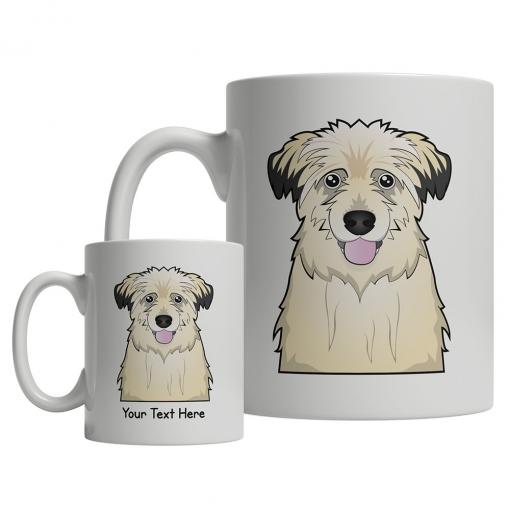 Pyrenean Shepherd Cartoon Mug
