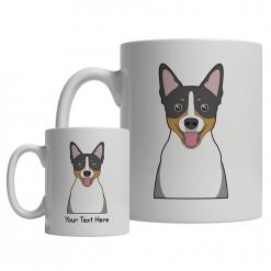 Rat Terrier Cartoon Mug