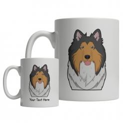 Collie Cartoon Mug