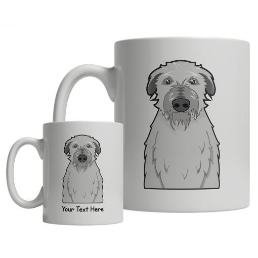 Scottish Deerhound Cartoon Mug