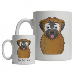 Soft Coated Wheaten Terrier Cartoon Mug