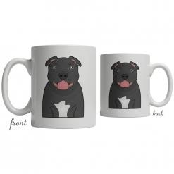 Staffordshire Bull Terrier Coffee Mug