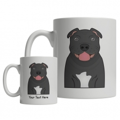 Staffordshire Bull Terrier Cartoon Mug