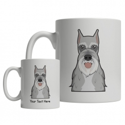 Schnauzer Cartoon Mug