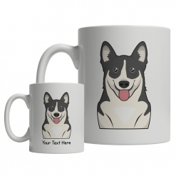 Swedish Vallhund Cartoon Mug