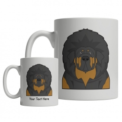 Tibetan Mastiff Cartoon Mug