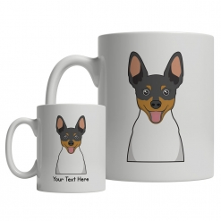 Toy Fox Terrier Cartoon Mug