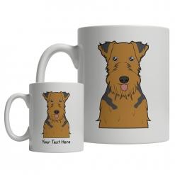 Welsh Terrier Cartoon Mug