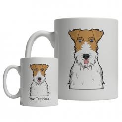 Wire Fox Terrier Cartoon Mug
