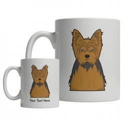 Yorkshire Terrier Cartoon Mug