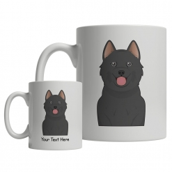 Schipperke Cartoon Mug